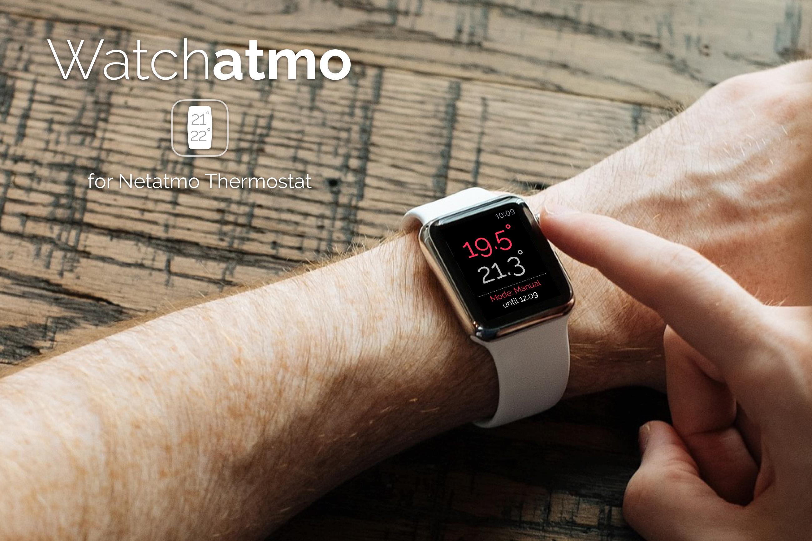Watchatmo pour Apple Watch